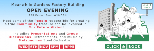 Open Evening at the Factory Building - Our future